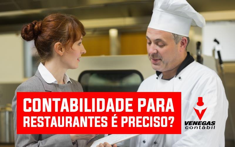 Contabilidade Para Restaurantes – é Preciso?
