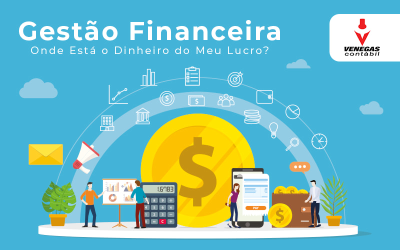 Gestão Financeira Onde Está O Dinheiro Do Meu Lucro - Contabilidade Em Campos Elíseos | Venegas Contábil